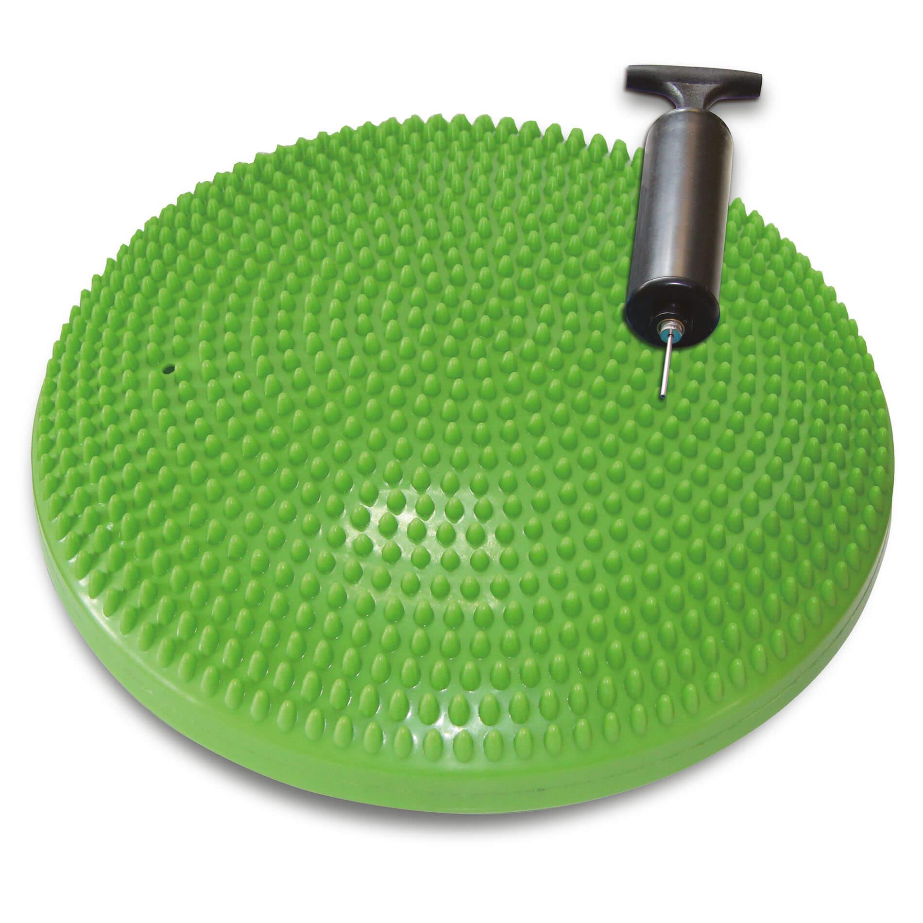 Balanční podložka TUNTURI masážní zelená ø 33 cm