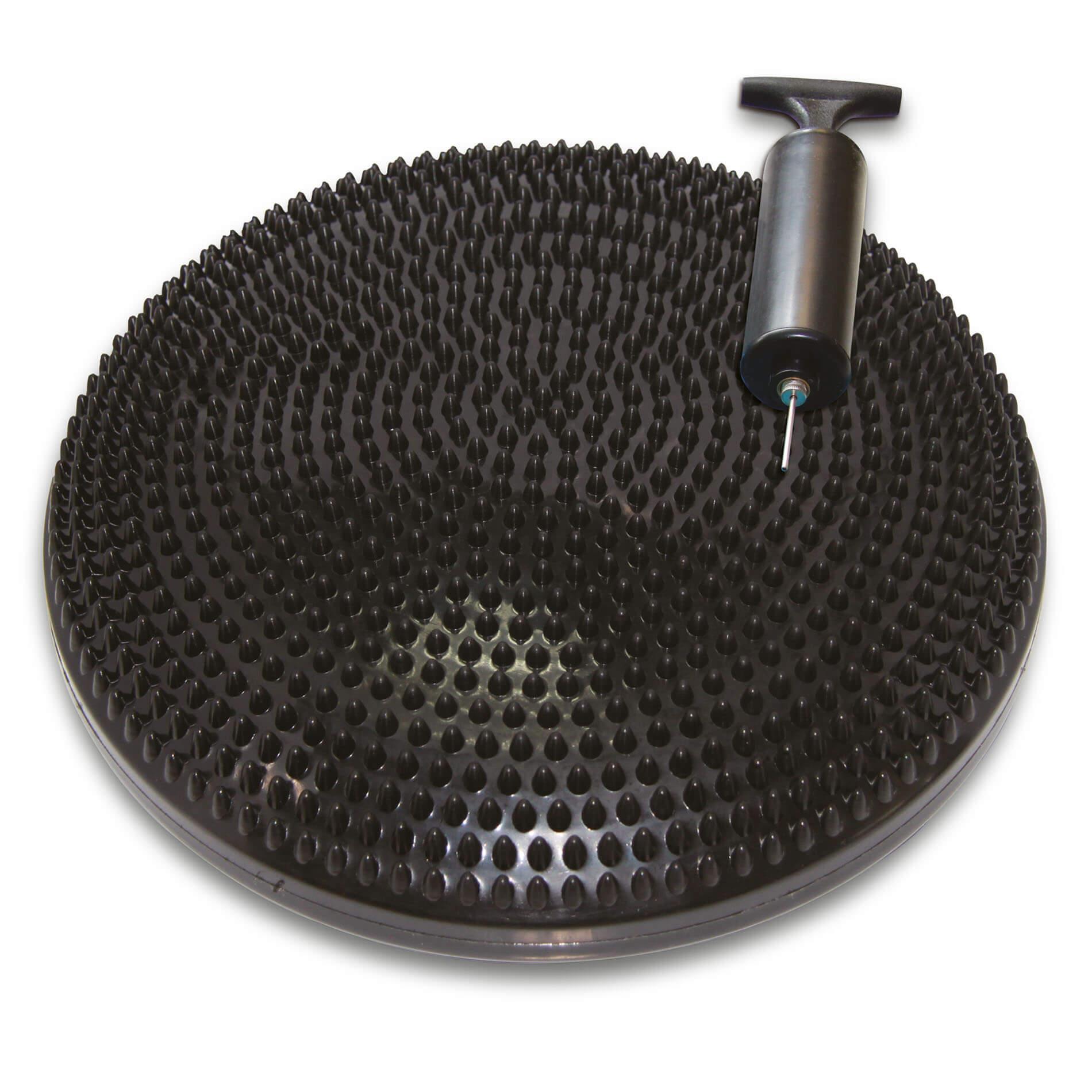 Balanční podložka TUNTURI masážní černá ø 33 cm