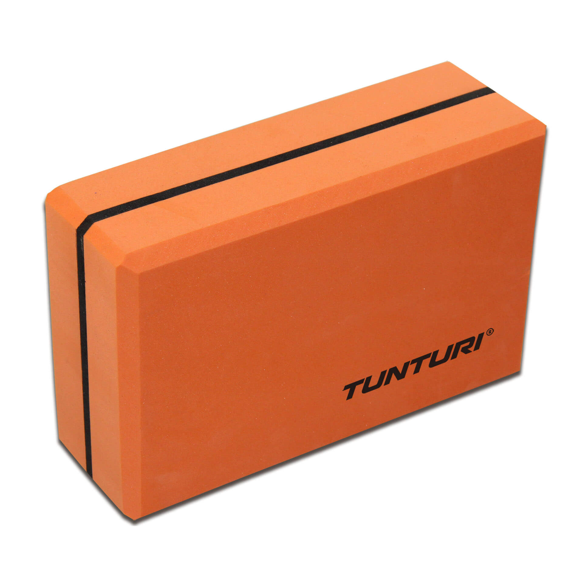 Jóga blok TUNTURI oranžovo - černá