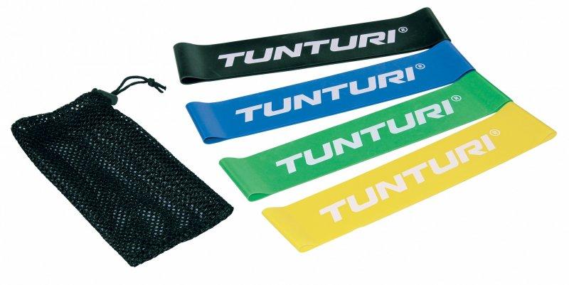 Posilovací guma TUNTURI sada - 4 ks