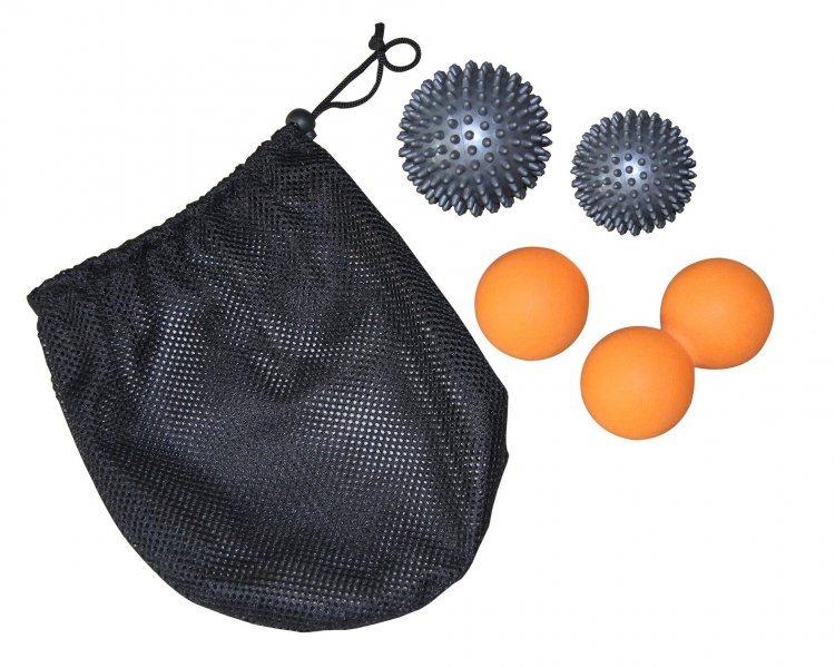 Masážní míčky sada TUNTURI 4 ks