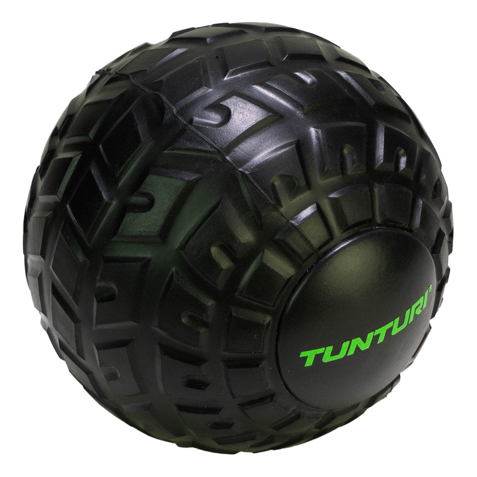 Masážní míček TUNTURI EVA Massage Ball 12cm černý